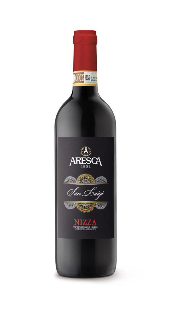 bottiglia di Nizza Aresca